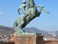 Az erdélyi 2-es huszárok emlékműve